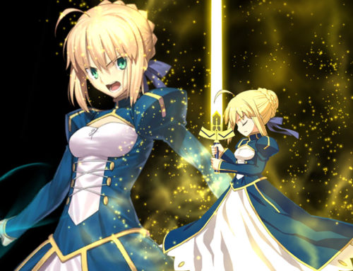Day 1 : Yes. I am your Master, Saber!