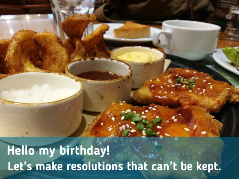 Let's make resolutions that can't be kept.